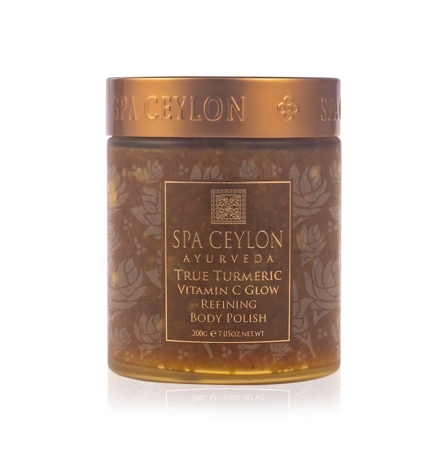 SPA CEYLON Premium kūno šveitiklis su C vitaminu TRUE TURMERIC